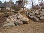 undwd sawn steps