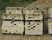 "Sawn Drywall - 3"" Stackable WallstoneNapoleon Stone"