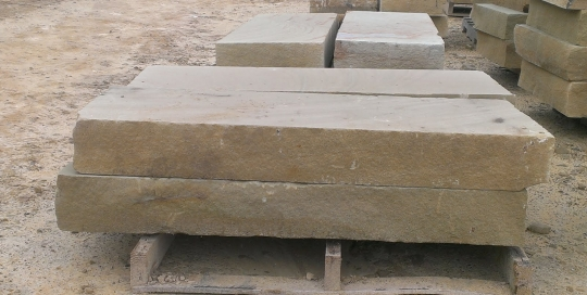 "Sawn Step / Sawn Tread - 4' x 18"" x 6"" thickNapoleon Stonewww.napoleonstone.com"