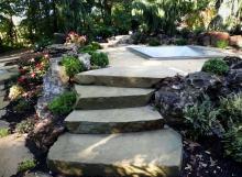 Sawn stone slabs