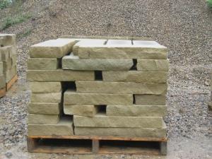 Sawn stone drywall