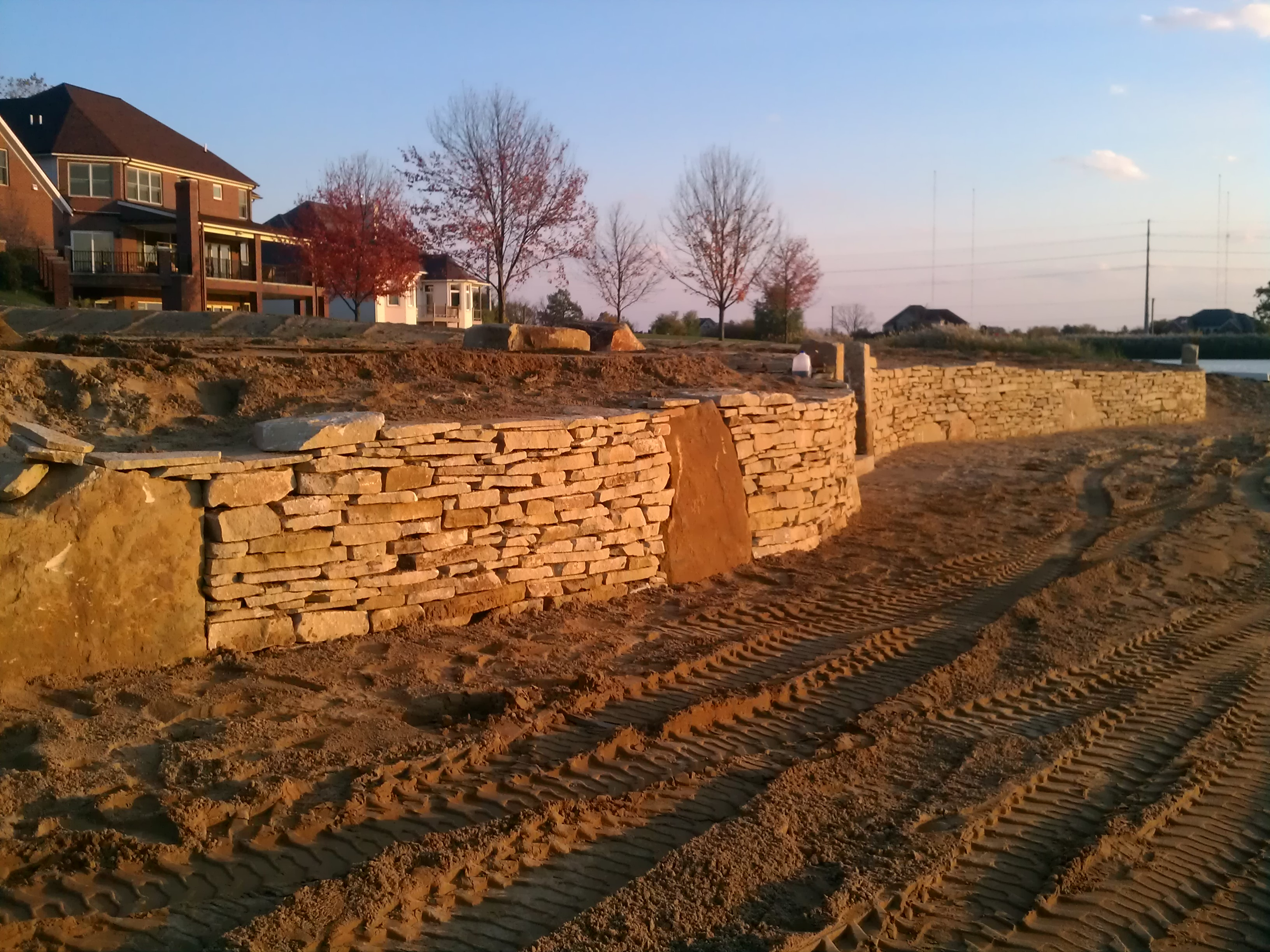 Stone Landscape Projects : Landscaping ideas natural stone supplier michigan