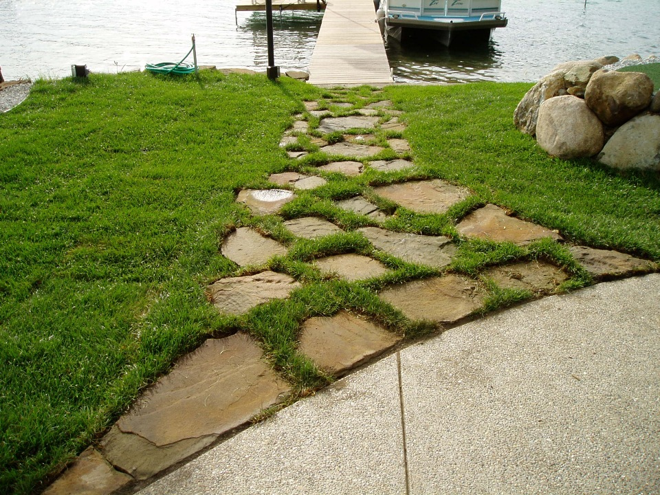 Landscaping Ideas Using Stone : Landscape ideas natural stone supplier michigan