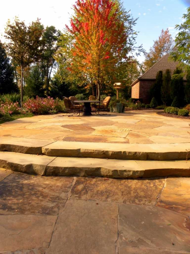 Sawn stone slabs landscape supplier