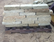 Tumbled-stone-drywall