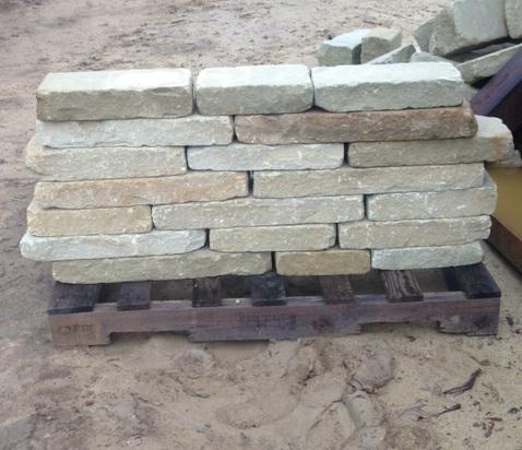 Tumbled Retaining Wall
