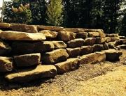 Chuck boulder wall