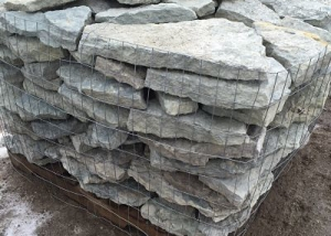 Erie Blue Thin Retaining Wall Stone