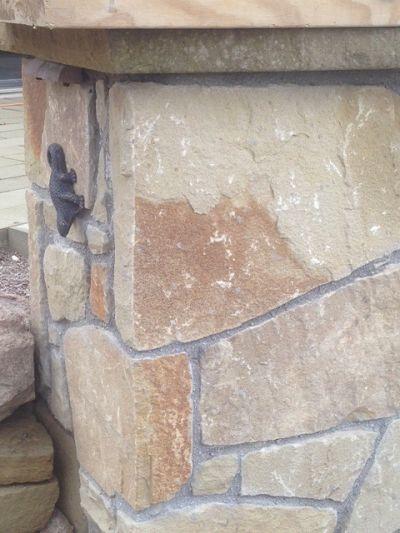Webwall stone veneer