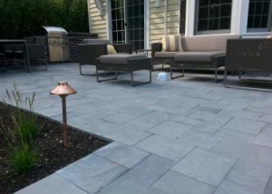 Exceptional Bluestone Patio Using Blue Blue Bluestone Pavers At Different Sawn  Dimensions By Napoleon Stone.