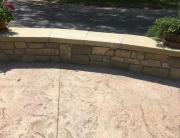 Stone Veneer and Cap